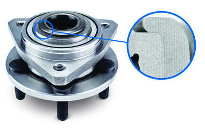 Roll Formed Hub Assembly