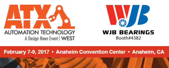 ATX West 2017-WJB Bearings-Booth-4382