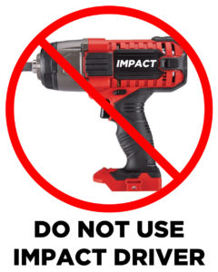 No impact wrench